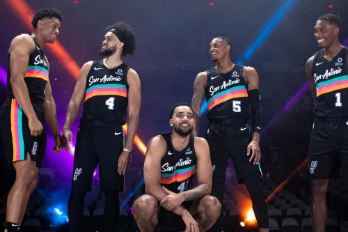 The Spurs release new Fiesta-themed City Edition uniforms