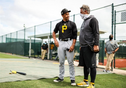 'Genuine kid' Cal Mitchell impressing Pirates with his development