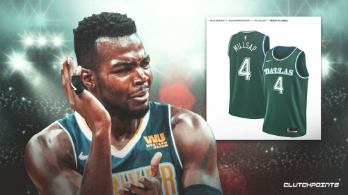 Paul Millsap Mavs jersey mysteriously shows up in NBA Store
