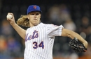 Noah Syndergaard is back and he's throwing off a mound shirtless again