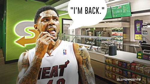 Udonis Haslem announced return to Miami in a Subway with strong 10-word statement