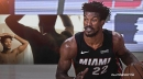 Heat star Jimmy Butler's hilarious reaction to getting first haircut after NBA bubble