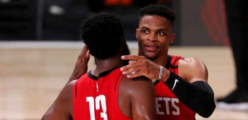 NBA Rumors: Proposed Three-Way Deal Would Involve Ben Simmons, James Harden, And Russell Westbrook