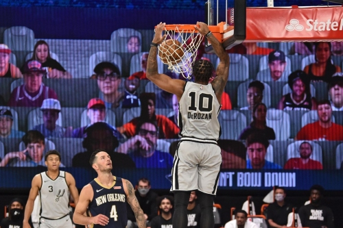 Open Thread: The Spurs best dunks of the 2019-2020 season
