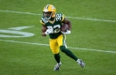 Packers RB Tyler Ervin injures ribs, ruled out for rest of Jaguars game