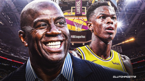 Magic Johnson reacts to Lakers trading for Dennis Schroder