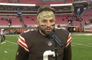 Baker Mayfield on getting Nick Chubb back: 'It's great having that one-two punch'