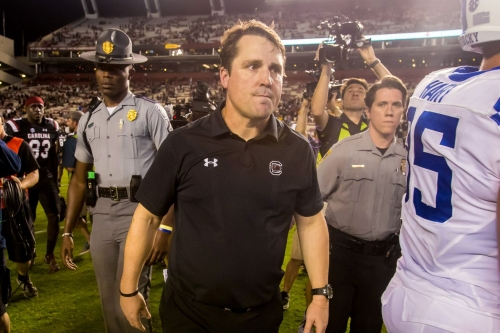 Will Muschamp reportedly fired by South Carolina