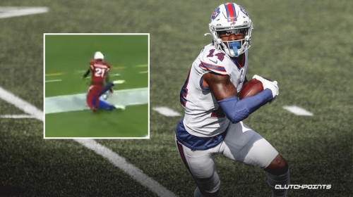 VIDEO: Bills' Stefon Diggs lays out for clutch diving TD from Josh Allen in final minute vs Cardinals