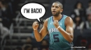 Nicolas Batum returns to Hornets by exercising $27 million player option