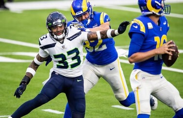 Seahawks injuries: Jamal Adams will likely play vs. Cardinals, while Quinton Dunbar likely won't
