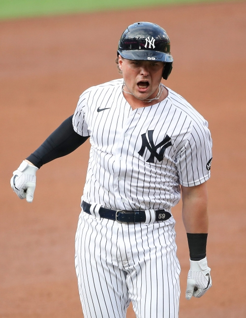 New York Yankees' Luke Voit on his foot injury, trade talks and DJ LeMahieu's future