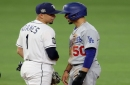Why Mookie Betts Hugged Rays' Willy Adames During World Series
