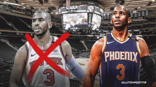 Chris Paul turned off by lack of fans allowed in Madison Square Garden, deterring trade to Knicks