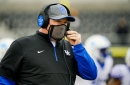 Mark Stoops is PISSED about UK's defense; Max Duffy likely to miss Alabama game