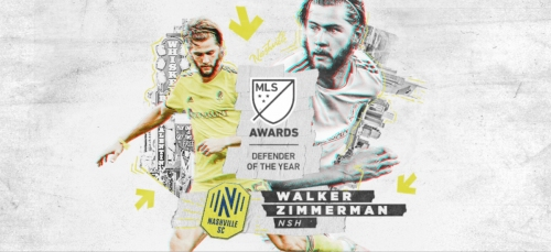 DEFENDER OF THE YEAR: MLS honors Nashville's Zimmerman; NYCFC's Tinnerholm 4th