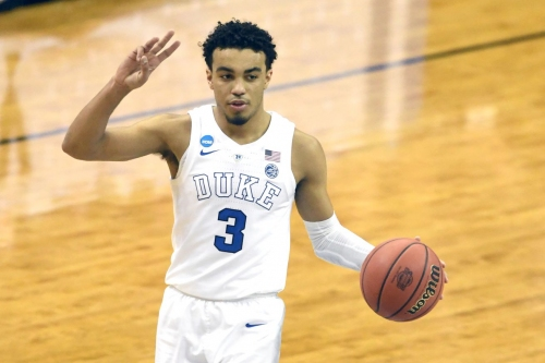The Spurs select Tre Jones with the 41st pick of the 2020 NBA Draft
