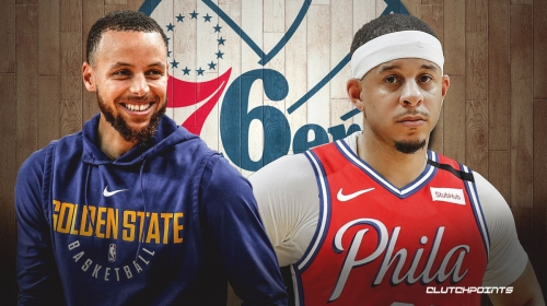 Warriors' Stephen Curry reacts to Seth Curry to Sixers trade