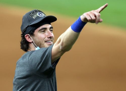 Cody Bellinger: Dodgers 'Earned' 2020 World Series Championship