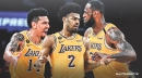 LeBron James reacts to champion teammates Danny Green, Quinn Cook leaving Lakers