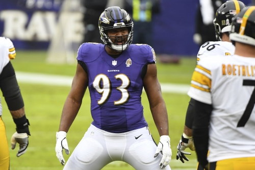 Ravens linemen Calais Campbell, Brandon Williams remain sidelined; CB Jimmy Smith returns to practice