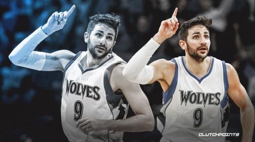 Ricky Rubio reacts to coming back to Timberwolves
