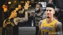 Danny Green reacts to LeBron James' Lakers goodbye message