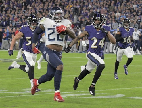 After rough outing vs. Patriots, Ravens defense prepares for sterner test from Derrick Henry and the Titans