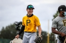 Pirates' Australian prospect Solomon Maguire is 'living the dream' and learning on the fly