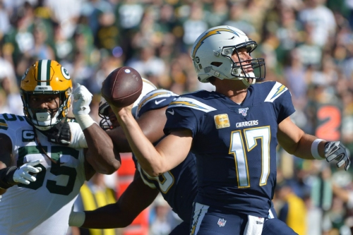 Packers Friday Musings: Despite 1-3 record, Philip Rivers has enjoyed success against Green Bay