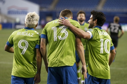 Record three Sounders named to MLS Best XI