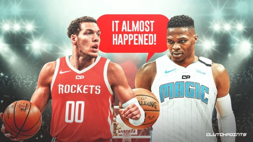 Report: Rockets, Magic discussed trade centered around Russell Westbrook, Aaron Gordon