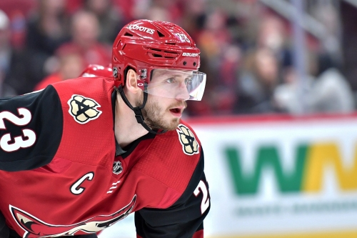 Arizona Coyotes captain Oliver Ekman-Larsson, back in town, learns from near-trade