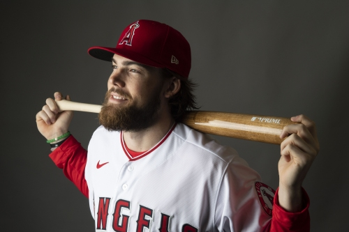 Angels add Brandon Marsh and Chris Rodriguez to 40-man roster