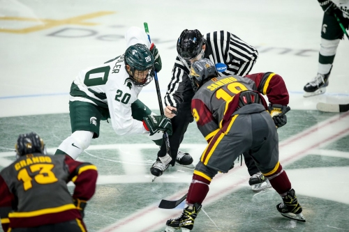 ASU Hockey: Sun Devils can't capitalize on offense, fall to Michigan State