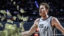 Jakob Poeltl to return to Spurs on 3-year, $27 million deal