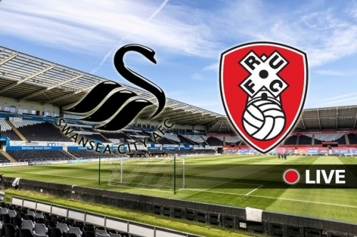 Swansea City v Rotherham United - live updates