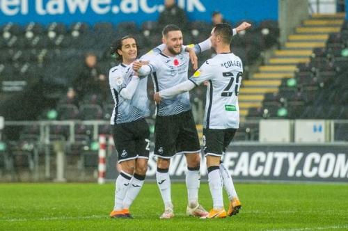 Matt Grimes strike earns Swansea third successive home Championship win