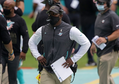How Brian Flores' simple approach has turned Dolphins into winner