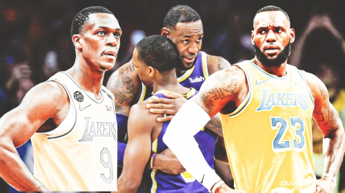LeBron James' heartfelt message to Rajon Rondo after his decision to leave Lakers, join Hawks