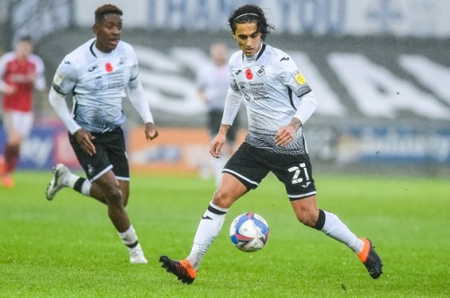 Yan Dhanda, the sparkling Liverpool boy coming of age at Swansea City