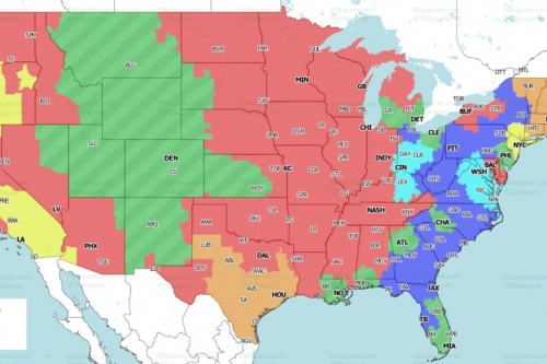 Distribution Map: Check out if you will get to see the Steelers vs. Jaguars game in Week 11