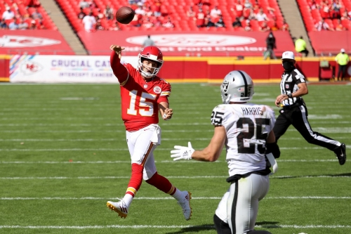 NFL Week 11 Sunday Schedule: Chiefs-Raiders gets prime time treatment