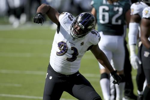 Ravens linemen Calais Campbell, Brandon Williams inactive vs. Titans; CB Jimmy Smith, WR Dez Bryant active