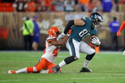 Eagles vs. Browns first quarter open thread
