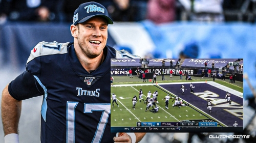 Video: Ryan Tannehill TD pass strikes first blow in Titans' playoff rematch vs. Ravens