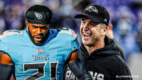John Harbaugh gets in shouting match with Titans' Malcolm Butler before Week 11 clash