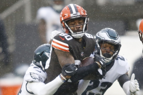 Eagles vs. Browns third quarter open thread