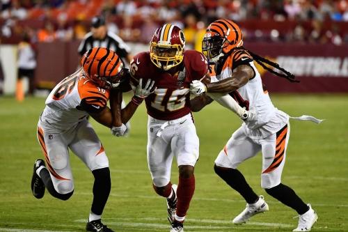NFL Week 11: Washington Football Team vs Cincinnati Bengals 3rd Quarter