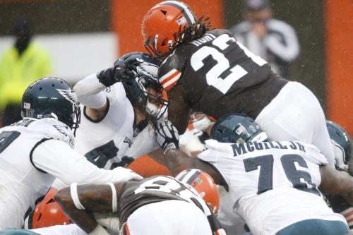 Eagles vs. Browns fourth quarter open thread